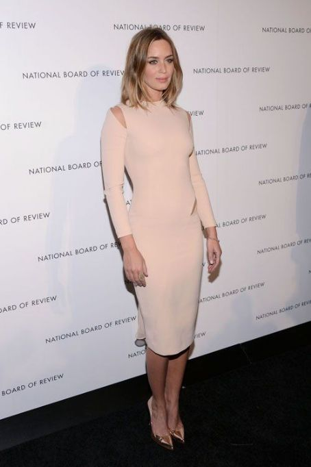 Emily Blunt: at the National Board of Review Awards in New York City
