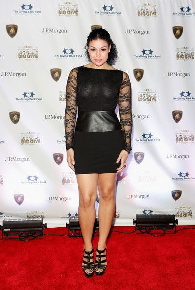 Jordin Sparks attends The Giving Back Fund's 4th Annual Big Game Big Give Super Bowl Celebration on February 2, 2013 in New Orleans, Louisiana.