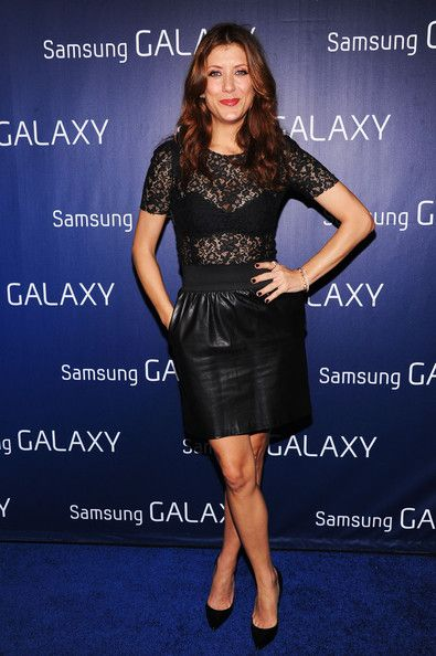 "Kate Walsh at the Samsung Galaxy ""Shangri-La"" Party on February 2, 2013 in New Orleans, Louisiana."