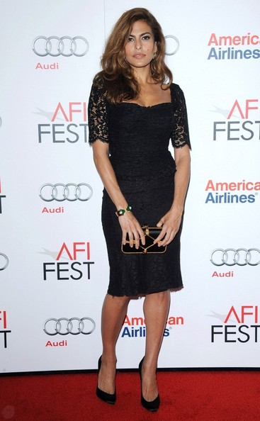 Eva Mendes at the AFI FEST 2012  Holy Motors Premiere