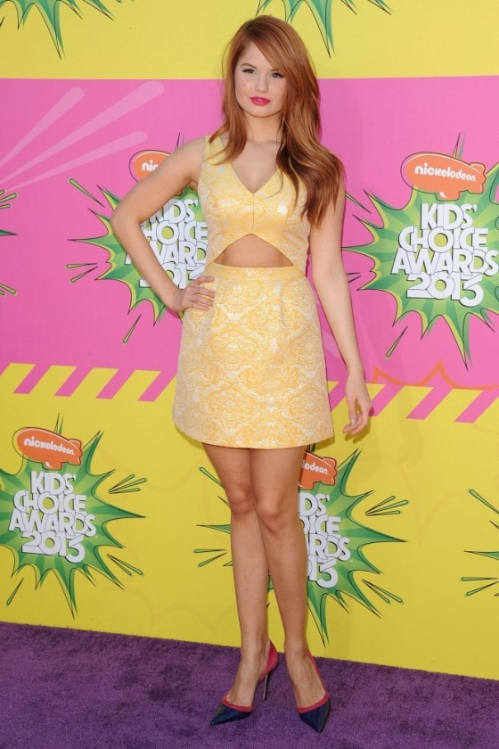 Debby Ryan Wearing Topshop –  2013 Kids' Choice Awards