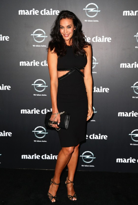 Megan Gale was spotted  at the 2013 Prix de Marie Claire Awards at the Star on March 27, 2013 in Sydney, Australia.