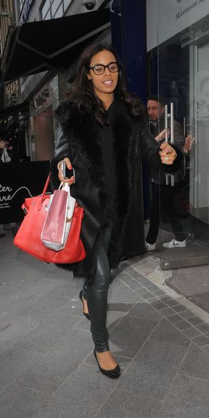 Rochelle Humes, attend the Heart Radio Station's 'Have a Heart' to help raise money for charity in London.