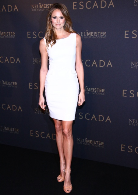 Stacy Keibler attends the grand opening of the 'Escada' Flagshipstore on March 19, 2013 in Berlin, Germany.