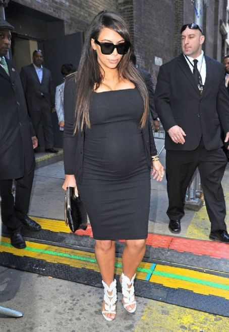Kim Kardashian out shopping in New York City on April 22, 2013