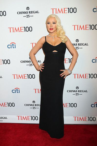 Christina Aguilera at TIME 100 Gala, TIME'S 100 Most Influential People In The World at Lincoln Center in New York City.