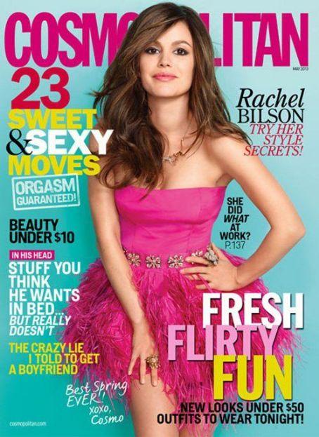 Rachel Bilson Cosmopolitan's May 2013 issue