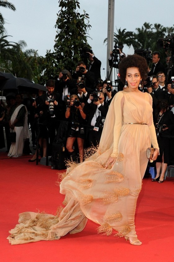 Solange Knowles in Stéphane Rolland Fall 2012