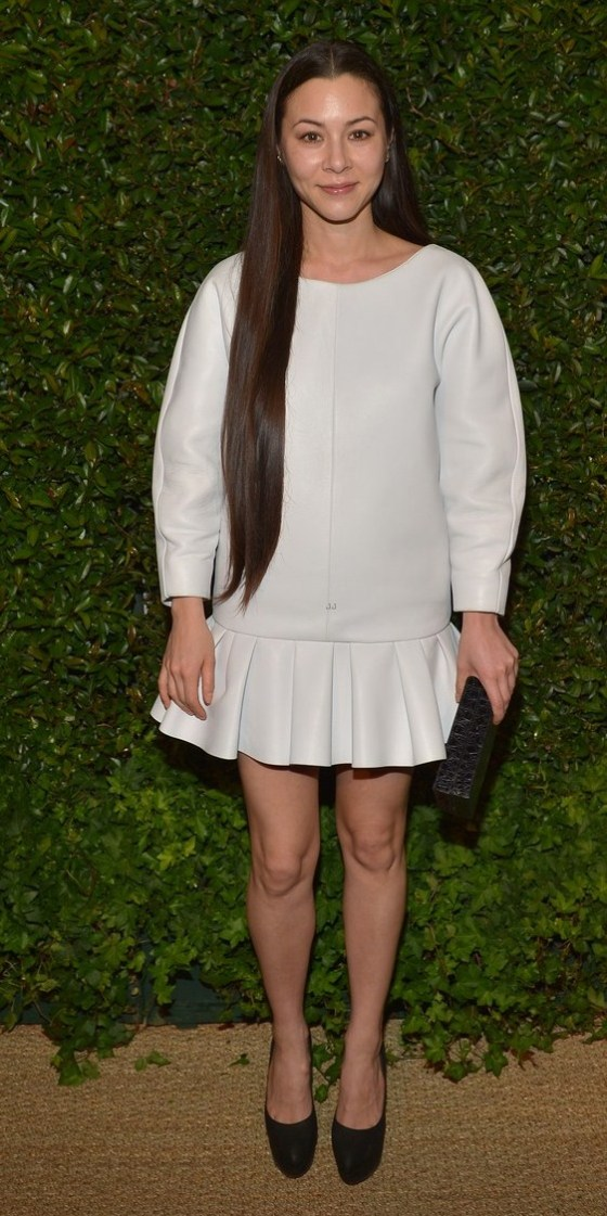 China Chow Looking Cute & Pretty as she attends Mac Cosmetic Dinner