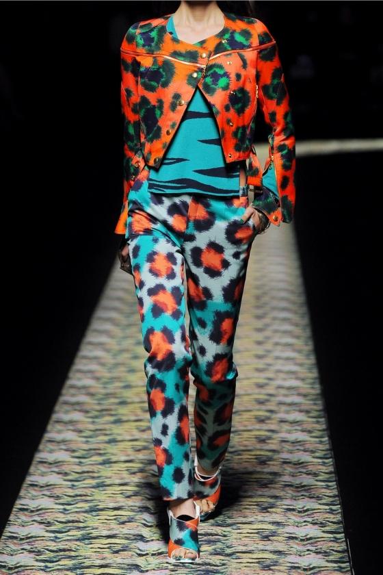 KENZO Animal Print Outfit