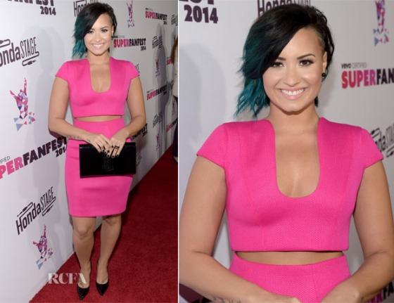 Demi Lovato In Philip Armstrong – Vevo CERTIFIED SuperFanFest.